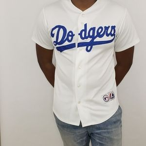 Vintage Los Angeles Dodgers baseball jersey